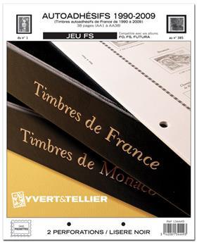 FRANCE AUTOADHESIFS FS : 1990 - 2009 (Sans pochettes)