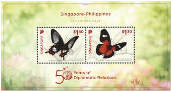 n° 207 - Timbre SINGAPOUR Blocs et feuillets