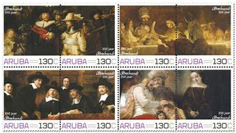 n° 1051/1058 - Timbre ARUBA Poste
