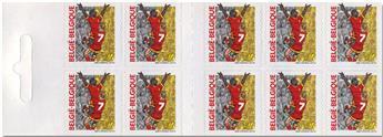 n° C2893 - Timbre BELGIQUE Carnets