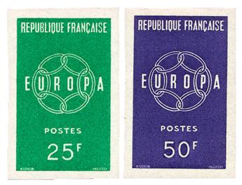 n°1218/1219** ND - Timbre FRANCE Poste