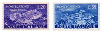 n°602/603** - Timbre ITALIE  Poste