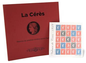"""Livre """"La Cérès - Histoire du premier timbre-poste français"""""""