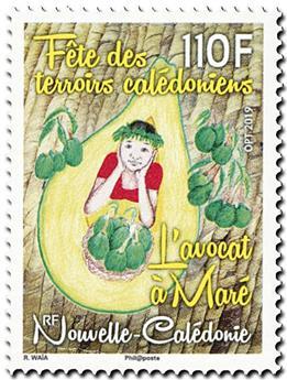n° 1375 - Timbre Nelle-Calédonie Poste