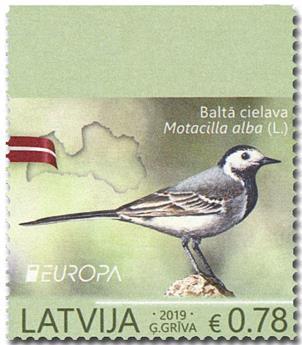 n° 1044a/1044b - Timbre LETTONIE Poste