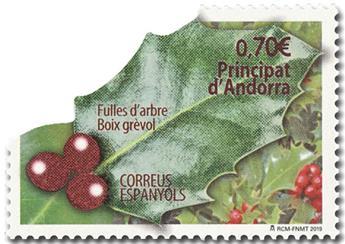 n° 473 - Timbre ANDORRE ESPAGNOL Poste
