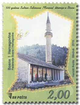 n° 816 - Timbre BOSNIE-HERZEGOVINE Poste