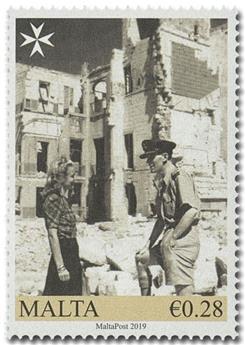 n° 1960/1962 - Timbre MALTE Poste