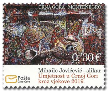 n° 428 - Timbre MONTENEGRO Poste