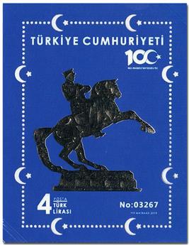 n° 155 - Timbre TURQUIE Blocs et feuillets