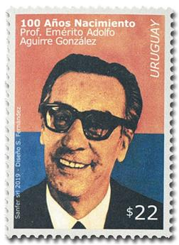 n° 2944 - Timbre URUGUAY Poste