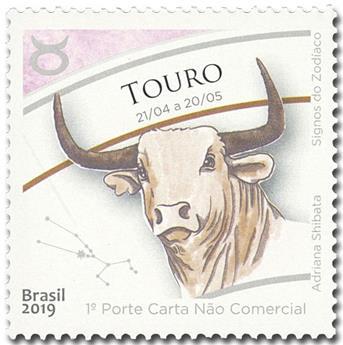 n° 3730 - Timbre BRESIL Poste