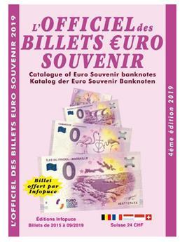 OFFICIEL DES BILLETS €UROS SOUVENIR (4ème Edition - 2019-2020)