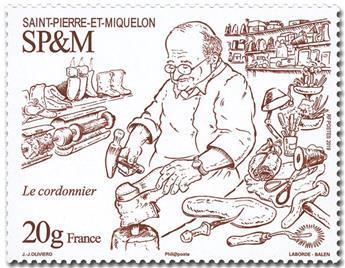 n° 1229 - Timbre Saint-Pierre et Miquelon Poste