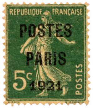n°26c(*) - Timbre FRANCE Préoblitères