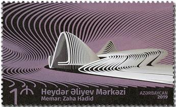 n° 1153 - Timbre AZERBAIDJAN Poste