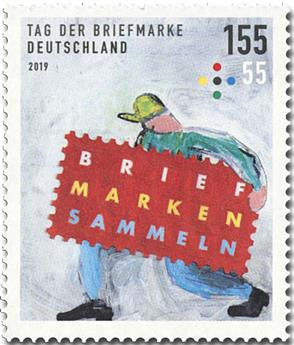 n° 3269 - Timbre ALLEMAGNE FEDERALE Poste