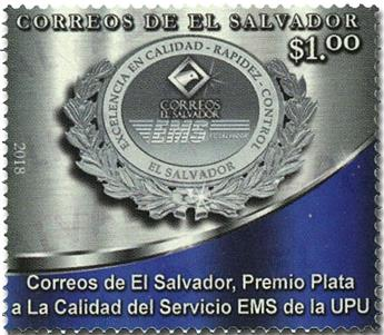 n° 1924 - Timbre SALVADOR Poste