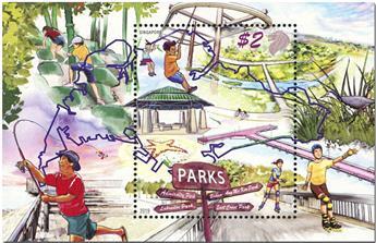 n° 210 - Timbre SINGAPOUR Blocs et feuillets