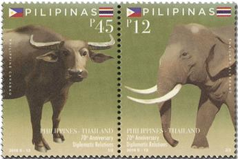 n° 4268/4269 - Timbre PHILIPPINES Poste