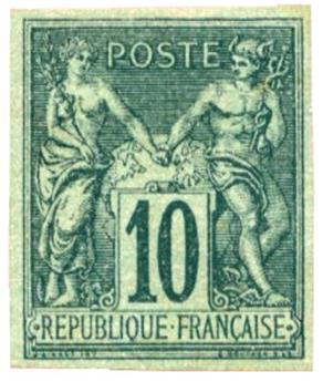 n°76d(*) - Timbre FRANCE Poste