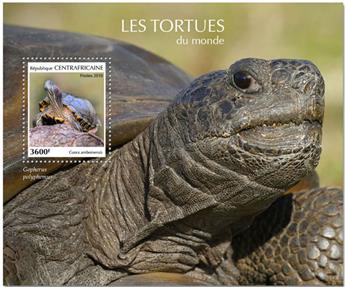 n° 1431 - Timbre CENTRAFRICAINE Blocs et feuillets