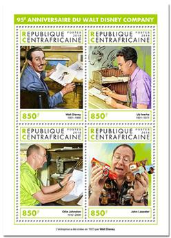 n° 6020/6023 - Timbre CENTRAFRICAINE Poste