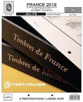 FRANCE FS : 2019 - 2EME SEMESTRE (Sans pochettes)