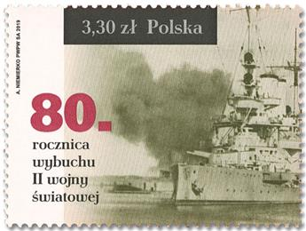 n° 4733 - Timbre POLOGNE Poste