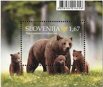 n° 117 - Timbre SLOVENIE Blocs et feuillets
