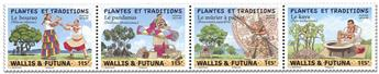 n° 920/923 - Timbre WALLIS & FUTUNA Poste