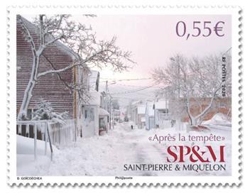 n° 1233 - Timbre Saint-Pierre et Miquelon Poste