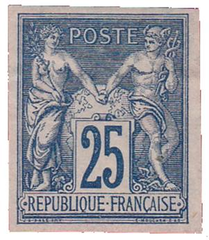 n°79a(*) - Timbre FRANCE Poste