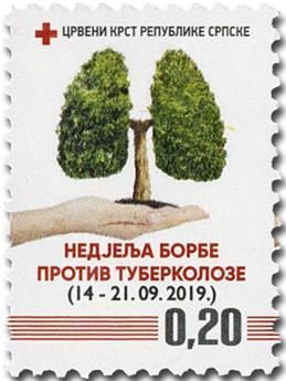 n° 48/48a - Timbre REPUBLIQUE SERBE (DE BOSNIE) Timbres de bienfaisance