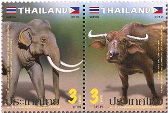 n° 3520/3521 - Timbre THAILANDE Poste