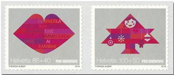 n° 2553/2554 - Timbre SUISSE Poste