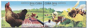 n° 5738/5741 - Timbre CUBA Poste