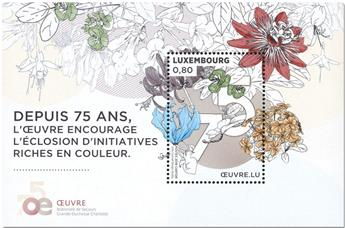n° F2163 - Timbre LUXEMBOURG Poste