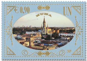 n° 1045/1046 - Timbre ONU VIENNE Poste
