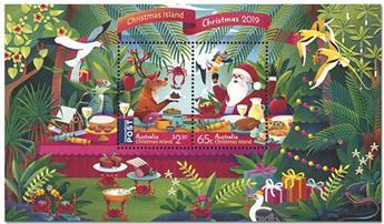 n° 70 - Timbre CHRISTMAS (ILE) Blocs et feuillets