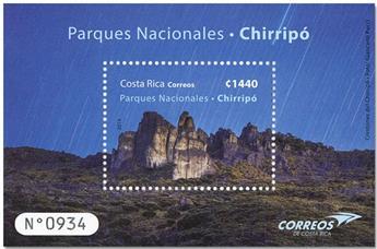 n° 74 - Timbre COSTA RICA Blocs et feuillets