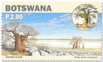 n°1243/1246 - Timbre BOTSWANA Poste