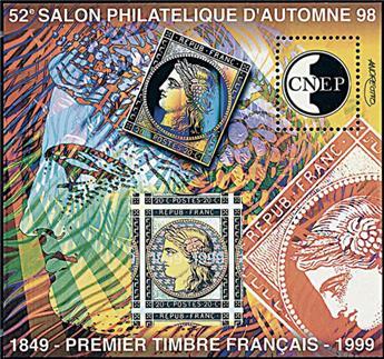 n° 28a - Timbre France CNEP (Non dentelé)
