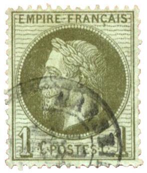n°25 obl. - Timbre FRANCE Poste