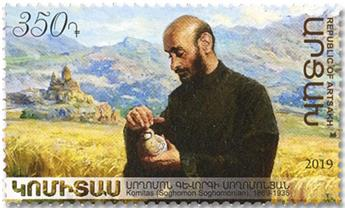 n° 168 - Timbre ARMENIE (Haut-Karabakh) Poste