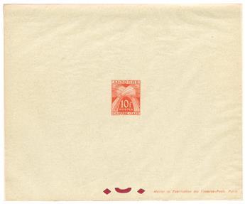 n°30 - Timbre ANDORRE FRANCAIS  Taxe
