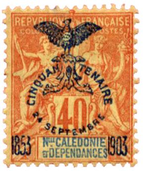 n°77* - Timbre NOUVELLE CALEDONIE Poste