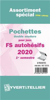 Assortiment de pochettes (double soudure) : 2020 -1e sem. (Jeux Autoadhésifs)