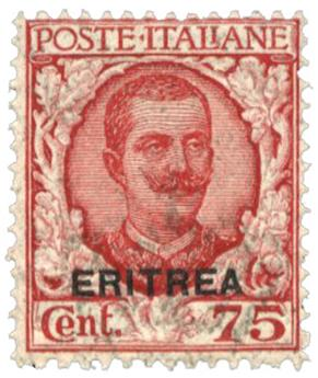 n°95** - Timbre ERYTHREE Poste