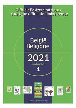 COB 2021 (Timbres de Belgique)